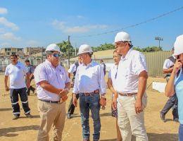 A fin de mes se culmina la instalación de la plataforma para el hospital de campaña en Tumbes