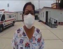 """DIRECTORA DEL H.R.T II-2 """"JAMO"""" PIDE RESPETAR EL FLUJO DE ATENCIÓN PARA PACIENTES CON INFECCIÓN POR COVID-19"""