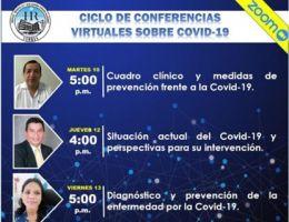 EN EL HOSPITAL REGIONAL CAPACITAN AL PERSONAL ASISTENCIAL SOBRE EL COVID-19