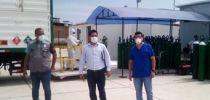 LLEGARON 160 BALONES DE OXÍGENO MEDICINAL PARA HOSPITAL REGIONAL