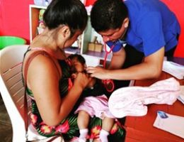 MÁS DE 80 PERSONAS SE ATENDIERON EN ACCION CIVICA EN EL DISTRITO DE CANOAS DE PUNTA SAL