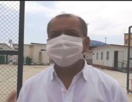 GOBERNADOR VISITA LA SALA DE HOSPITALIZACIÓN Y EL ÁREA DE UCI