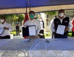MINISTRO DE RELACIONES EXTERIORES HACE ENTREGA DE DONACIÓN DE EQUIPOS DE SEGURIDAD E INSUMOS HOSPITALARIOS EN TUMBES.