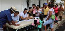 El HRJT llevó Acción Cívica al Centro Poblado de La Palma, por sus 119 Aniversario.