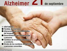 """HOSPITAL REGIONAL II 2 """"JAMO"""" CONCIENTIZA A LA POBLACIÓN A CONOCER LAS SINTOMATOLOGÍAS DEL ALZHEIMER  21 DE SEPTIEMBRE - DÍA MUNDIAL DEL ALZHEIMER"""