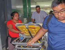Equipo de salud logra trasladar en cuestión de horas a una menor que sufrió quemaduras de segundo grado