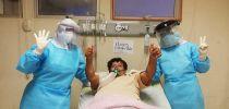 PACIENTES LONGEVOS CON INFECCIÓN POR COVID-19 SON SALUDADOS EN EL HOSPITAL REGIONAL DE CIUDADELA NOÉ