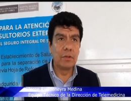 El HRJT comprometidos a implementar la Unidad de Telemedicina.